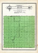 Township 25 Range 11, Lake, Holt County 1915
